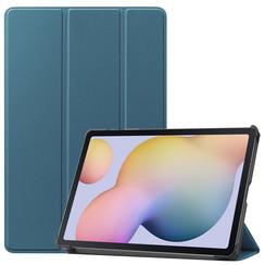 Samsung Galaxy Tab S7 (2020) hoes - Tri-Fold Book Case - Marine Blauw