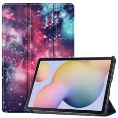Samsung Galaxy Tab S7 (2020) hoes - Tri-Fold Book Case - Galaxy