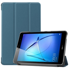 Huawei MatePad T8 hoes - Tri-Fold Book Case - Marine Blauw
