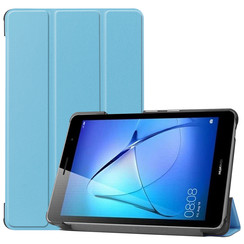 Huawei MatePad T8 hoes - Tri-Fold Book Case - Licht Blauw