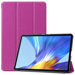 Huawei MatePad 10.4 hoes - Tri-Fold Book Case - Paars