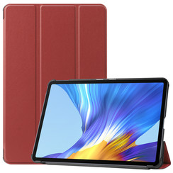 Huawei MatePad 10.4 hoes - Tri-Fold Book Case - Donker Rood