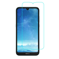 Nokia 1.3 Screenprotector - Tempered Glass Screenprotector - Case-Friendly