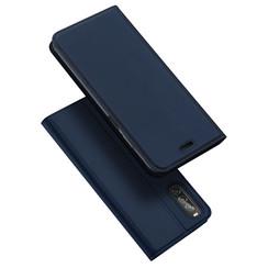 Sony Xperia 10 II hoesje - Dux Ducis Skin Pro Book Case - Donker Blauw