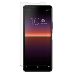 Sony Xperia 10 II Screenprotector - Tempered Glass Screenprotector - Case-Friendly