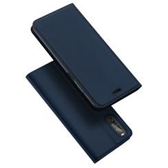 Sony Xperia 1 II hoesje - Dux Ducis Skin Pro Book Case - Donker Blauw