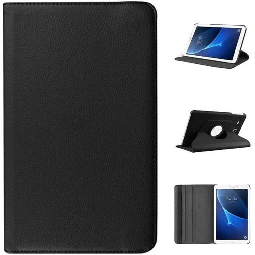 Cover2day Case for Samsung Galaxy Tab A 10.1 (2016-2018) - 360 Degree Rotation Stand Cover - Black
