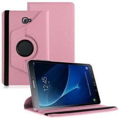 Samsung Galaxy Tab A 10.1 (2016/2018) draaibare hoes Roze