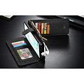 CaseMe CaseMe - Samsung Galaxy Note 10 hoesje - Wallet Book Case met Ritssluiting - Zwart