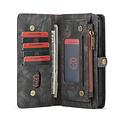 CaseMe CaseMe - iPhone 11 Pro hoesje - 2 in 1 Wallet Book Case - Zwart