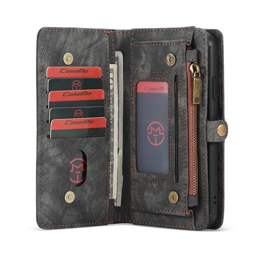 CaseMe CaseMe - iPhone 11 Pro Max Hoesje - 2 in 1 Wallet Book Case - Zwart
