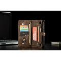 CaseMe CaseMe - Huawei P30 Lite hoesje - 2 in 1 Wallet Book Case - Donker Bruin