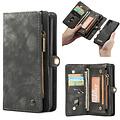 CaseMe CaseMe - Huawei P30 Pro hoesje - 2 in 1 Wallet Book Case - Zwart