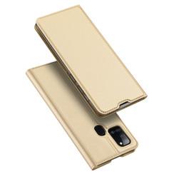 Samsung Galaxy A21s hoesje - Dux Ducis Skin Pro Book Case - Goud