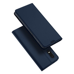 Samsung Galaxy Xcover Pro hoesje - Dux Ducis Skin Pro Book Case - Donker Blauw