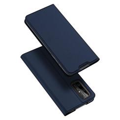 Dux Ducis - Case for Honor 30 - Ultra Slim PU Leather Flip Folio Case Whiteh Magnetic Closure - Blue