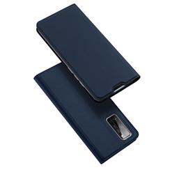 Dux Ducis - Case for Honor 30 Pro (Plus) - Ultra Slim PU Leather Flip Folio Case Whiteh Magnetic Closure - Blue