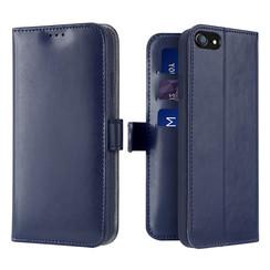iPhone SE 2020 hoesje - Dux Ducis Kado Wallet Case - Blauw