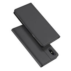 iPhone X hoesje - Dux Ducis Skin Pro Book Case - Zwart