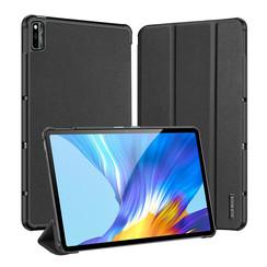 Huawei MatePad 10.4 hoes - Dux Ducis Domo Book Case - Zwart