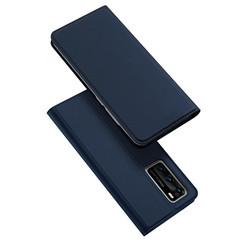 Dux Ducis - Case for Huawei P40 - Ultra Slim PU Leather Flip Folio Case Whiteh Magnetic Closure - Blue