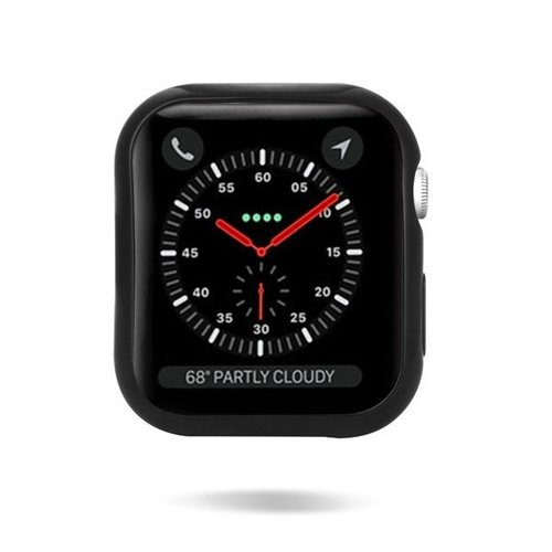 Dux Ducis Apple Watch Series 4/5 Case - 40mm  - TPU Cover - Black / clear (2-Pack)