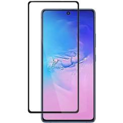 Samsung Galaxy Note 10 Lite - Full Cover Screenprotector - Gehard Glas - Zwart