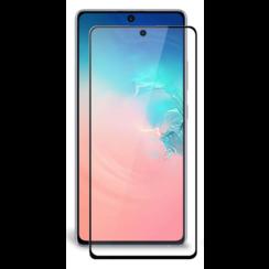 Samsung Galaxy S10 Lite - Full Cover Screenprotector - Gehard Glas - Zwart