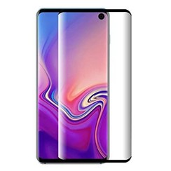 Samsung Galaxy S10e - Full Cover Screenprotector - Gehard Glas - Zwart