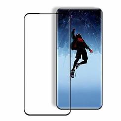 Samsung Galaxy S20 Plus - Full Cover Screenprotector - Gehard Glas - Zwart