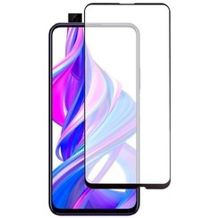 Honor 9X - Full Cover Screenprotector - Gehard Glas - Zwart