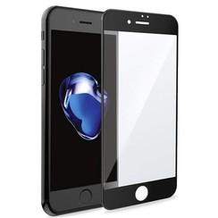 iPhone SE 2020 Screenprotector - Full Cover Screenprotector - Gehard Glas - Zwart