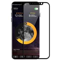 iPhone XR - Full Cover Screenprotector - Gehard Glas - Zwart
