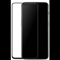 OnePlus 7T - Full Cover Screenprotector - Gehard Glas - Zwart