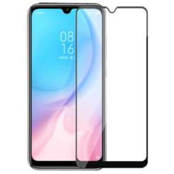 Xiaomi Redmi Note 8 Pro - Full Cover Screenprotector - Gehard Glas - Zwart