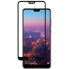 Huawei P20 Pro - Full Cover Screenprotector - Gehard Glas - Zwart