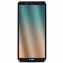 Huawei Y7 2018 - Full Cover Screenprotector - Gehard Glas - Zwart