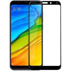 Xiaomi Note 5 Plus - Full Cover Screenprotector - Gehard Glas - Zwart