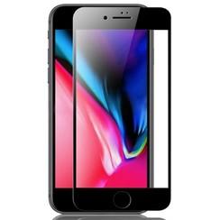 iPhone 8 Plus - Full Cover Screenprotector - Gehard Glas - Zwart