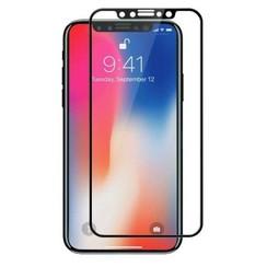 iPhone XS - Full Cover Screenprotector - Gehard Glas - Zwart