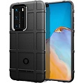 Cover2day Case for Huawei P40 Pro - Heavy Duty Armor Shockproof TPU Cover - Black