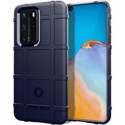 Case for Huawei P40 Pro - Heavy Duty Armor Shockproof TPU Cover - Blue
