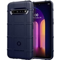 Cover2day Case for LG V60 ThinQ 5G - Heavy Duty Armor Shockproof TPU Cover - Blue