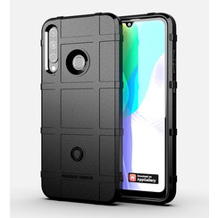 Case for Huawei Y6P - Heavy Duty Armor Shockproof TPU Cover - Black
