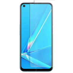 Oppo A72 Screenprotector - Tempered Glass Screenprotector - Case-Friendly