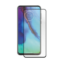 Oppo Find X2 - Full Cover Screenprotector - Case-Friendly - Zwart