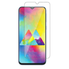 Samsung Galaxy M21 - Tempered Glass Screenprotector - Case-Friendly