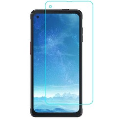 Samsung Galaxy Xcover Pro Screenprotector - Tempered Glass - Case Friendly