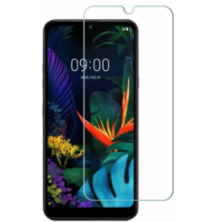LG K40s screenprotector - Tempered Glass Screenprotector - Case-Friendly