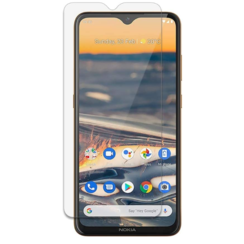 Nokia 5.3 Screenprotector - Tempered Glass Screenprotector - Case-Friendly